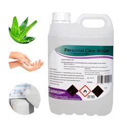 Garrafa 5 Litros Gel Hidroalcoholico para manos 70% Alcohol FORMATO AHORRO 5000ml.