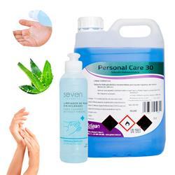 Garrafa 5 Litros Loción Hidroalcohol Manos Formato Ahorro + 245ml. Solución Hidroalcohol Rellenable