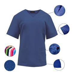 Casaca Sanitario 100% Microfibra Poliéster Repelente Agua Anti-Olor (Varias tallas y colores)