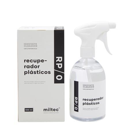 Miltec RP/0 Recuperador de plásticos 500ml. Renueva, Protege y Aviva