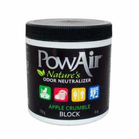 PowAir Block Neutralizador de Olores 170 gr. Apple Crumble