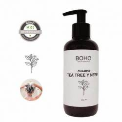 BOHO Champú Tea Tree Y Neem Bio (2006) 250ml.