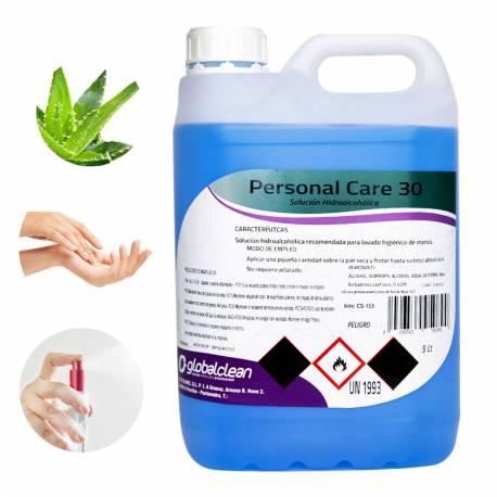 Garrafa 5 Litros Solución Hidroalcohólica para manos 70% Alcohol FORMATO AHORRO 5000ml.