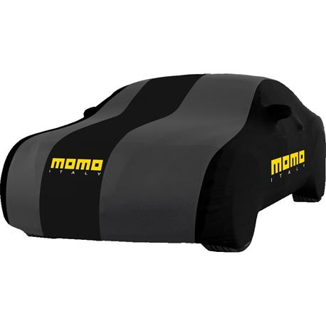 CC001LM - Cubre coches MOMO traspirable interior 1 capa talla M hasta 407-432 cm largo total
