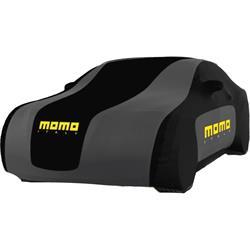 CC002LL - Cubre coches MOMO traspirable interior-exterior 3 capas talla L 433-457 cm largo total