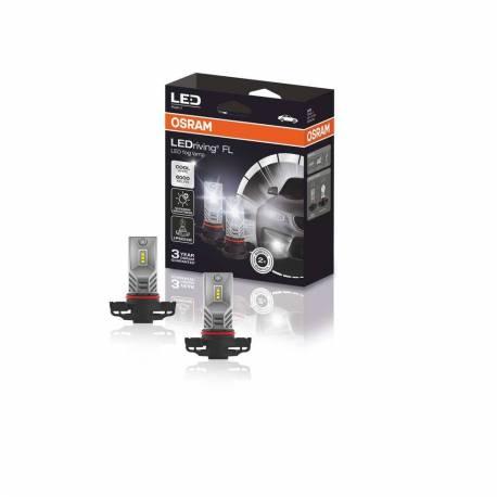 OSRAM LEDriving FL, Off-Road ? PSX24W, 12V, Retrofits, Faros antiniebla LED, 2604CW, Caja Plegable (1 Unidad)