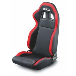 00961NRRS Asiento Sparco R100 Negro Rojo
