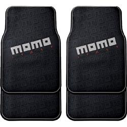 CM009BG - Juego 4 alfombrillas coche goma universales MOMO 009