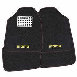 CM016BR - Juego 4 alfombras universales moqueta talonera aluminio MOMO