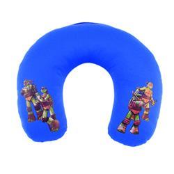 """TUR2010 - Almohadilla cervical infantil Tortugas Ninja """"Turltle"""" azul-"""