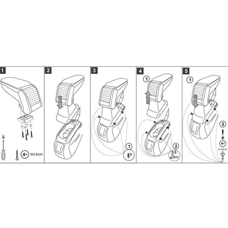 sda5638 apoyabrazos a medida armster ar10 para citro n c elys e ii de 2013. Black Bedroom Furniture Sets. Home Design Ideas