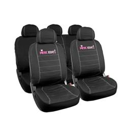 Juego completo fundas asiento coche Pink Me! Negras.