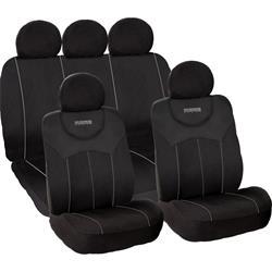 SC0010BG - Juego completo fundas asientos MOMO negro-gris 010