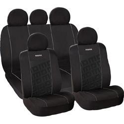 SC008BG - Juego completo fundas asientos MOMO negro-gris 008
