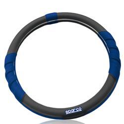 Sparco SPC. Funda para el volante del coche Sparco azul