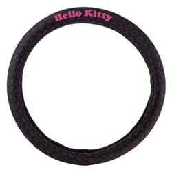 Funda Volante Negra Hello Kitty.