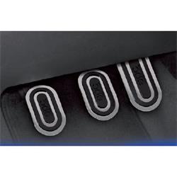 OPC04040001 - Juego para el coche de 3 pedales urban negro Sparco SPC-