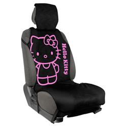 Cubreasiento Hello Kitty Negro