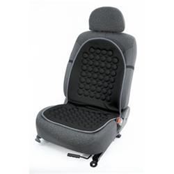 Respaldo ergonomico negro.