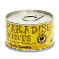 PER80001 - Ambientador orgánico lata Paradise vainilla 60 dias para el coche-