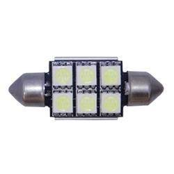 BOM12622 - Blister 2 bombillas de plafón super led blanca 39mm HP can-bus.-
