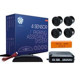 MT-CP4B - Sensor de aparcamiento CP4 LED + buzzer - negro