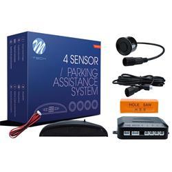 MT-CP5B - Sensor de aparcamiento CP5 LED + conectores - negro