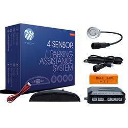 MT-CP5S - Sensor de aparcamiento CP5 LED + conectores - plateado