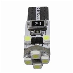 BOM12636 - 2 bombillas posicion super 8 led blanco sin casquillo can-bus.-