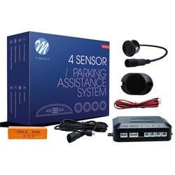 MT-CP6B - Sensor de aparcamiento CP6 buzzer + conectores - negro