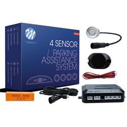 MT-CP6S - Sensor de aparcamiento CP6 buzzer + conectores - plateado