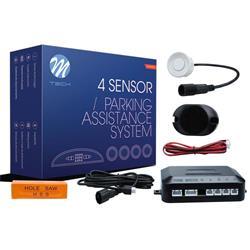 MT-CP6W - Sensor de aparcamiento CP6 buzzer + conectores - blanco