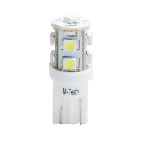 MT-L018W - Lámpara LED L018 W5W - 9 x SMD 3528 blanca