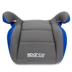Alzador Elevador infantil coche Sparco gr. II/III gris/azul acolchado 3cm.