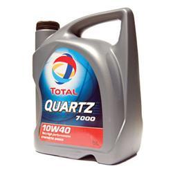 Aceite Lubricante coche Total Quartz 7000 10W40 5 litros.