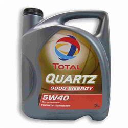 Aceite Lubricante coche Total Quartz Energy 9000 5W40 5 litros.