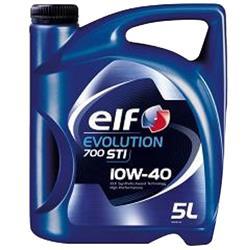 Aceite Lubricante coche Elf Evolution STI 10W40 5 litros.