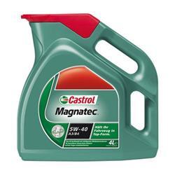 Aceite Lubricante coche Castrol Magnatec A3/B4 5W40 4 litros.