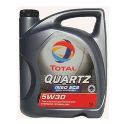 Aceite Lubricante coche Total Quartz Ineo 5W30 5 litros.
