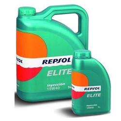 Aceite lubricante para coche Repsol Élite Inyección 15W40.