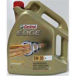 Aceite Lubricante coche Castrol Edge Professional Titanium LL III 5W30 5 litros.