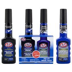 Pack pre-ITV diesel STP antihumos