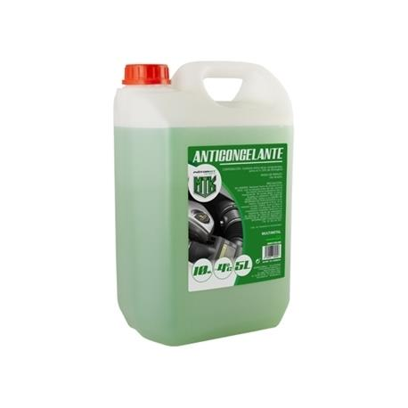 Anticongelante 5l 10% verde Motorkit con etilenglicol, no nocivo