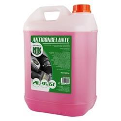 Anticongelante 5l 20% rosa Motorkit con etilenglicol, no nocivo