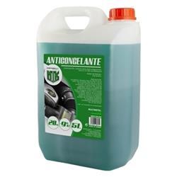 Anticongelante 5l 20% verde Motorkit con etilenglicol, no nocivo
