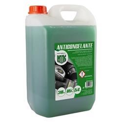 Anticongelante 5l 30% verde Motorkit con etilenglicol, no nocivo
