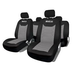 SPC1016GR - Juego fundas de asiento Bk gris Sparco