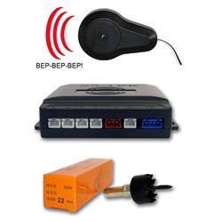 Avisador acústico y centralita para sensor aparcamiento (sin sensores)