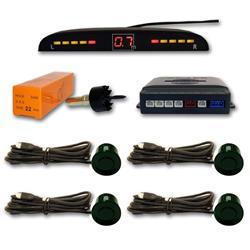 Sensor aparcamiento 4 sensores Gris Verdoso y pantalla digital