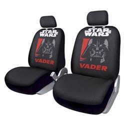 STW101 - Juego de 2 fundas de asiento delanteras Star Wars Vader